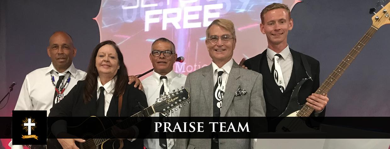 praise team photo