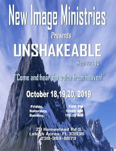 Unshakable Conference Flyer